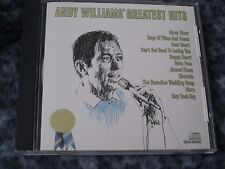"""ANDY WILLIAMS CD """"ANDY WILLIAMS' GREATEST HITS"""" RARE COLUMBIA RECORDS"""
