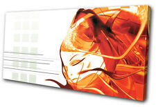 Abstract Girl Design SINGLE DOEK WALL ART foto afdrukken