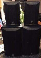 2 Yamaha NS-AP6500F & 2 NS-AP6500S - Black - Work Great