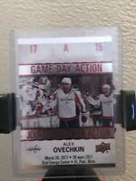 Alex Ovechkin  Capitals 2017-2018 Upper Deck Tim Hortons Game Day Action #GDA-15