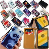 Leather Wallet Stand Magnetic Flip Case Cover For Motorola Moto G G4 G5 Phones