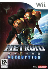 Metroid Prime 3: Corruption NEW and Sealed Nintendo Wii, 2007