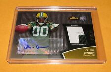 2011 Finest Rookie 2 Color Patch Auto - ALEX GREEN #RAP-AG -  Packers /599