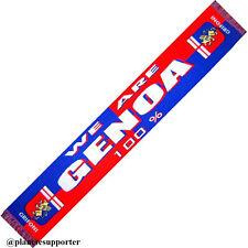 ECHARPE GENOA Italie Italia scarf schal cachecol sjaal no drapeau maillot fanion