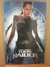 Lara Croft Tomb Raider Angelina Jolie movie poster Original 2001 2224