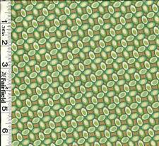 Heather Bailey Fresh Cut Jelly Bean Green PWHB029 1/2 yd by FreeSpirit Fabrics