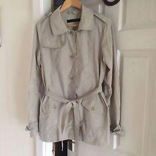 Calvin Klein NWOT Beige Classic Mac Style Jacket Coat Water repel L uk 14
