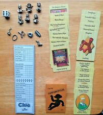 Simpsons Replacement Parts Clue Board Game Official Figures & Parts