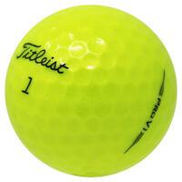 12 Titleist Pro V1 2019 Yellow Near Mint Used Golf Balls AAAA *SALE!*