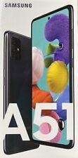 """Samsung Galaxy A51 128GB 4GB RAM A515F/DS Dual Sim FACTORY UNLOCKED 6.5"""" BLACK"""