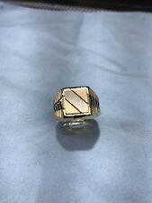 18kt gold Mans Ring