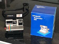 Polaroid Supercolor 635 en boite , testé fonctionne parfaitement TBE