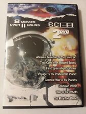 8 Sci-Fi Movie Box Dvd,please See Photos For Movie Titles.