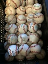 20 Used Leather Baseballs