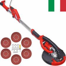 Levigatrice Muro Cartongesso Rosso 750 W Smerigliatrice Carteggiatrice 225 mm