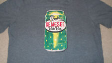 Uncommon GENESEE BOCK BEER T-Shirt Size Large GOAT LOGO Mens Womens