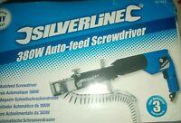 SILVERLINE 380W AUTO- FEED  Screwdriver 380as