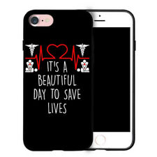 "NEW! Grey's Anatomy quote ""it's a beautiful day to save lives"" iPhone Case"