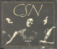 Crosby,Stills & Nash   2  CD's CARRY ON (c)  1991