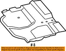 CHRYSLER OEM Radiator Core Support-Underbody Shield 68145522AC