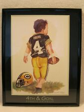 Brett Favre 4th & Goal Kenneth Gatewood 8x10 Picture Green Bay Packers Print