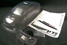 RC 1/10 Drift EP Car 195mm UNPAINTED Body Shell EVO X Fits Tamiya,HPI, Yokomo