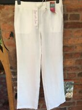 Marks & Spencer Pure Linen Trousers Size 10 BNWT