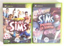 Les Sims + Les Sims Permis De Sortir XBOX PAL