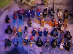 🔥HOT🔥1X RANDOM LEGO MARVEL DC MINIFIGURE! MYSTERY SUPERHERO(AUTHENTIC! MCU)🍀