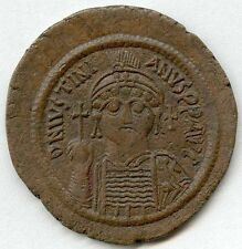 JUSTINIAN 1 (527-565 AD) Large 40mm AE Follis of NIKO S201 SUPERB MUSEUM QUALITY