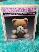 Vintage 1989 ROCK A BYE BEAR Plush Animal Toy Teddy Bear  in Box