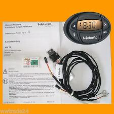 Original Webasto Aufrüstsatz mit Vorwahluhr für VW T5 mit Climatronic Neuware
