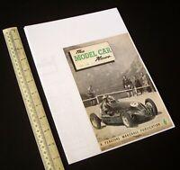 "1948 May/1980s ""The Model Car News"" RTP Rail & Track. Ivan Prior Desktop Copy."