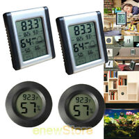 Wireless Thermometer Indoor Digital LCD Hygrometer Temperature Humidity Meter US