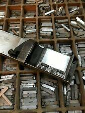 SORTED BOXES METAL 14PT GARAMOND ROMAN COMPLETE LOWER UPPERCASE LETTERPRESS TYPE