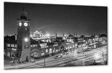 Leinwand Bild Leinwand Bild Hamburg Hafen Landungsbrücken St. Pauli Fischmarkt S