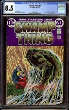 Swamp Thing # 1 CGC 8.5 OW/W (DC, 1972) Origin of Swamp Thing