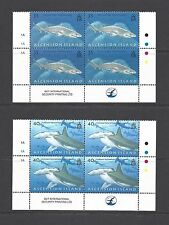 ASCENSION 2008 SG 999/1002 MNH Blocks of 4 Cat £32