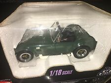 Cobra 427 S/C Carroll Shelby Kyosho 1/18 Racing Green Roadster Ford Awesone