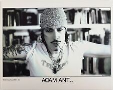 "Adam Ant/ the Ants Blu Black Hussar  8"" x 10"" Official Ltd Edition  Photo Print"