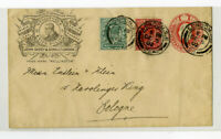 Great Britain 1902 Advertising Corner Card Silversmiths Cover
