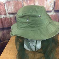 Kookaburra Safari Hat Mosquito Netting Breathable