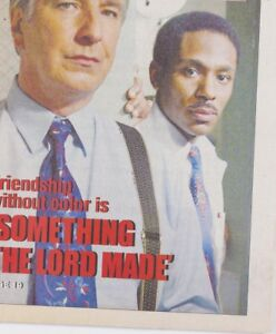 Alan Rickman MOS DEF Very Rare Something The Lord Made HBO FEATURE US Magazine