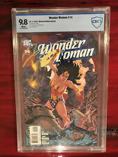 Wonder Woman #14 (2008) Michael Golden Variant CBCS 9.8 White Pages Not CGC