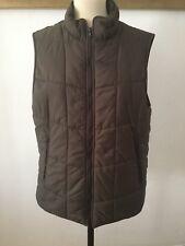 Hackett Brown Gilet Puffer Coat XL