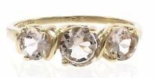 Ladies Genuine Kunzite Ring in 10 Kt Yellow Gold