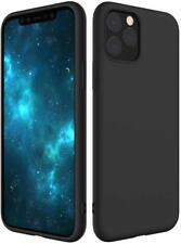 iPhone 11 Pro Max Hülle Silikon Schutzhülle Black Cover Slim Fit Case Schwarz
