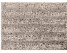 "New  Mohawk Home Luster Stripe  Plush Bath Rug 20"" x 34"" Grey  Nylon"