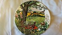 Meadows and Wheatfields Colin Newman Wedgwood 1987 Collector Plate CL35-4