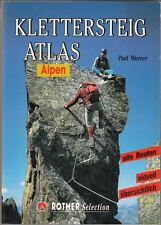 Klettersteigatlas Alpen : Paul Werner